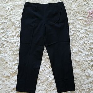 Talbots black career style pants